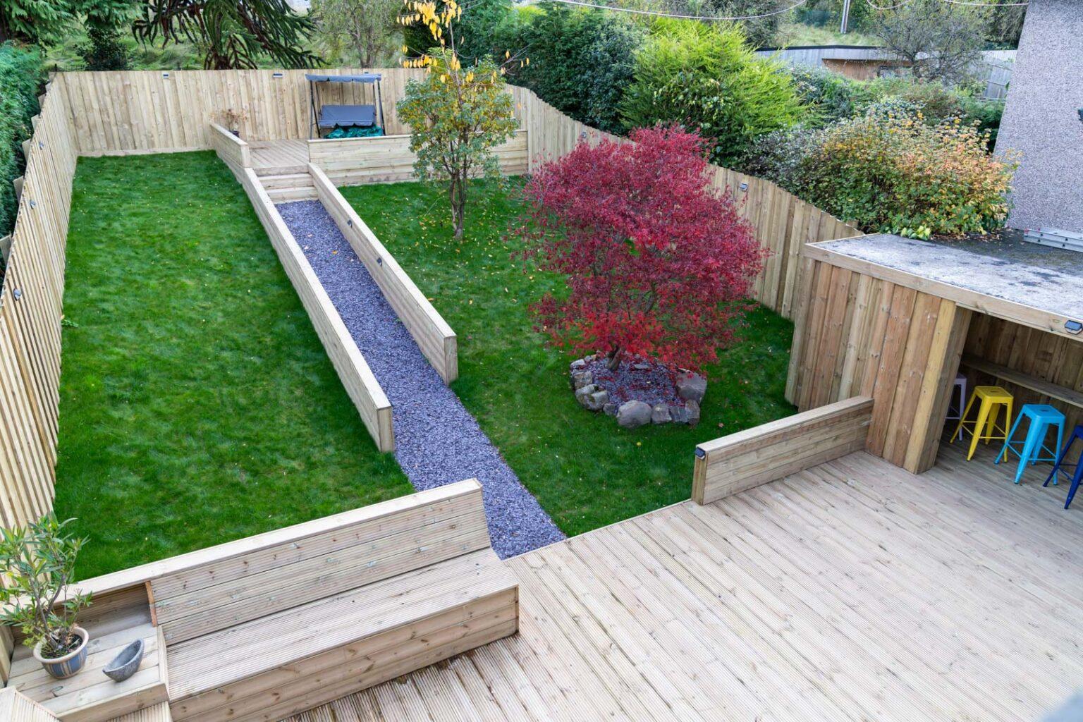 Landscaped Garden & Entertaining Area